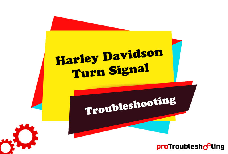 Harley Davidson Turn Signal Troubleshooting-FI